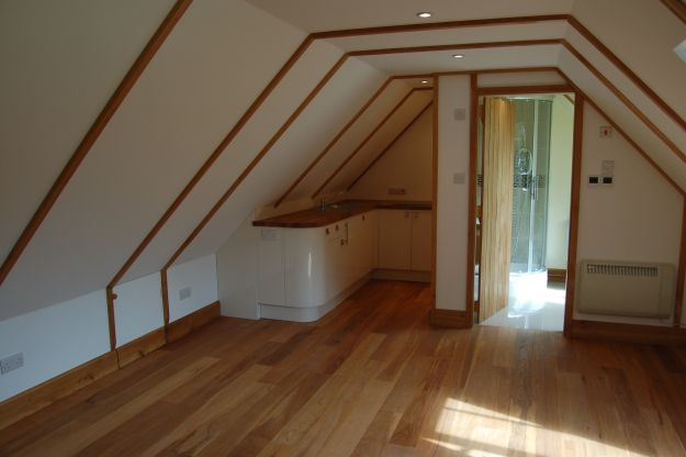 Andrew page oak for Double garage with room above