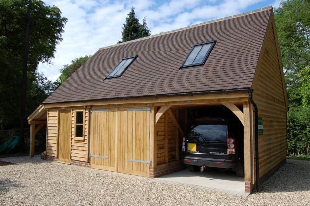 Andrew page oak for Oak framed house designs